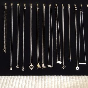 Jewelry - Sale sterling silver necklaces